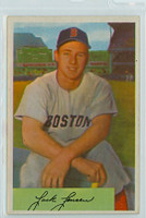 1954 Bowman Baseball 2 Jackie Jensen Boston Red Sox Excellent to Excellent Plus