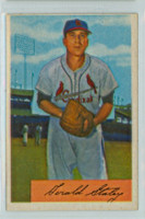 1954 Bowman Baseball 14 Gerald Staley St. Louis Cardinals Excellent to Excellent Plus