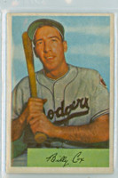 1954 Bowman Baseball 26 b Billy Cox 972 FA  Brooklyn Dodgers Excellent to Mint