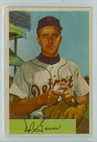 1954 Bowman Baseball 39 Ned Garver Detroit Tigers Near-Mint