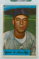 1954 Bowman Baseball 52 Joe Ginsberg Cleveland Indians Excellent to Mint
