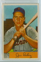 1954 Bowman Baseball 55 Jim Delsing Detroit Tigers Near-Mint