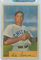 1954 Bowman Baseball 93 b Bill Serena 977 FA  Chicago Cubs Excellent to Excellent Plus