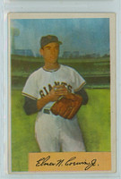 1954 Bowman Baseball 137 Al Corwin New York Giants Excellent
