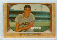 1955 Bowman Baseball 27 Preston Ward Pittsburgh Pirates Very Good