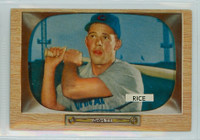 1955 Bowman Baseball 52 Hal Rice Chicago Cubs Very Good