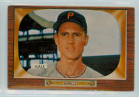 1955 Bowman Baseball 113 Bob Hall Pittsburgh Pirates Very Good