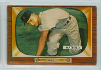 1955 Bowman Baseball 187 Fred Hatfield Detroit Tigers Very Good