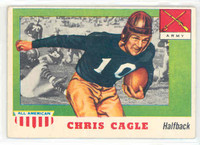 1955 Topps AA Football 95 Chris Cagle Single Print Army Black Knights Excellent