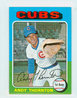 1975 Topps Mini Baseball 39 Andy Thornton Chicago Cubs Near-Mint Plus
