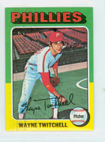1975 Topps Mini Baseball 326 Wayne Twitchell Philadelphia Phillies Very Good to Excellent