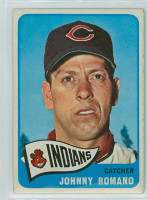 1965 OPC Baseball 17 Johnny Romano Cleveland Indians Very Good to Excellent