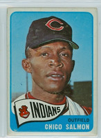 1965 OPC Baseball 105 Chico Salmon Cleveland Indians Very Good