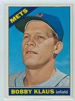 1966 OPC Baseball 108 Bobby Klaus New York Mets Excellent