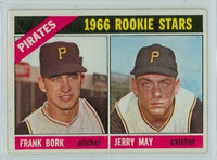 1966 OPC Baseball 123 Pirates Rookies Excellent