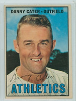 1967 OPC Baseball 157 Danny Cater Kansas City Athletics Very Good to Excellent