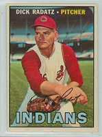 1967 OPC Baseball 174 Dick Radatz Cleveland Indians Very Good to Excellent