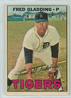 1967 OPC Baseball 192 Fred Gladding Detroit Tigers Very Good to Excellent