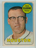1969 OPC Baseball 58 Fred Gladding Houston Astros Excellent