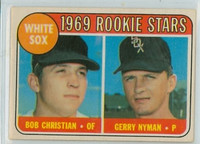 1969 OPC Baseball 173 White Sox Rookies Excellent