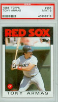 1986 Topps Baseball 255 Tony Armas Boston Red Sox PSA 9 Mint