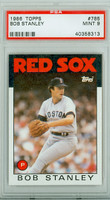 1986 Topps Baseball 785 Bob Stanley Boston Red Sox PSA 9 Mint