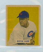 1949 Bowman 168 Doyle Lade High Number Very Good