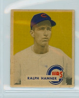 1949 Bowman 212 Ralph Hamner High Number Good to Very Good