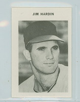 1969 Milton Bradley Baseball 103 Jim Hardin Baltimore Orioles Near-Mint Plus