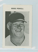 1969 Milton Bradley Baseball 225 Boog Powell Baltimore Orioles Near-Mint