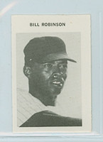 1969 Milton Bradley Baseball 234 Bill Robinson New York Yankees Near-Mint Plus