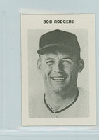 1969 Milton Bradley Baseball 237 Bob Rodgers California Angels Near-Mint