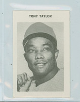 1969 Milton Bradley Baseball 270 Tony Taylor Philadelphia Phillies Near-Mint