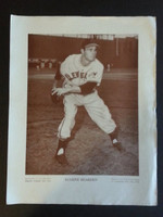 Baseball Magazine Player Posters 1948 Gene Bearden Cleveland Indians Very Good