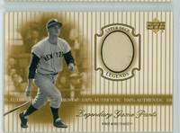 2000 Upper Deck Legendary Jerseys Insert 1:48 Roger Maris /Pants Near-Mint to Mint