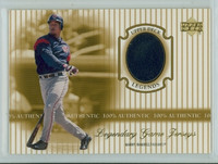 2000 Upper Deck Legendary Jerseys Insert 1:48 Manny Ramirez Cleveland Indians Near-Mint to Mint
