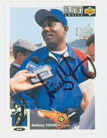 Anthony Young AUTOGRAPH 1994 Upper Deck Cubs 