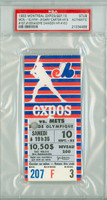 1983 Montreal Expos Ticket Stub vs New York Mets Cary Carter 2 HRs - Career #187, #188 Andre Dawson Career HR #163  - September 10, 1983 [EX]