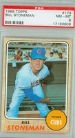 1968 Topps Baseball 179 Bill Stoneman