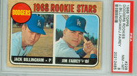 1968 Topps Baseball 228 Dodgers Rookies