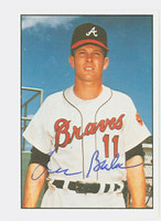 Lee Bales AUTOGRAPH 1978 TCMA The Sixties Braves 