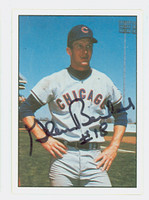 Glenn Beckert AUTOGRAPH 1978 TCMA The Sixties Cubs 