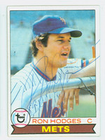 Ron Hodges AUTOGRAPH 1979 Topps #46 Mets   [SKU:HodgR4701_T79BBHC]