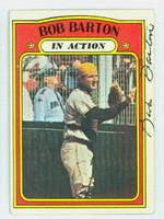 Bob Barton AUTOGRAPH 1972 Topps In Action #40 Padres   [SKU:BartB1411_T72BBIAHC]