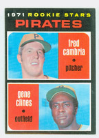 1971 Topps Baseball 27 Pirates Rookies Excellent to Mint