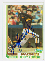 Terry Kennedy AUTOGRAPH 1982 Topps #65 Padres   [SKU:KennT6690_T82BBHC]