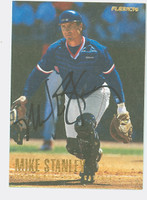 Mike Stanley AUTOGRAPH 1996 Fleer Red Sox   [SKU:StanM10603_FL96BBHC]