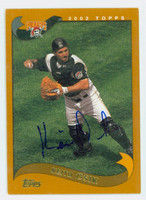 Keith Osik AUTOGRAPH 2002 Topps Pirates 