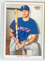 Jason Botts AUTOGRAPH 2002 Topps T206 Rangers 