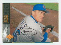 Bobby Jones AUTOGRAPH 1994 Upper Deck Mets 